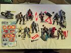 VINTAGE 1997 Kenner STEEL Complete Action Figure Collection Lot Superman WOW