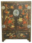 EARLY KOREAN LACQUERED CHEST, FRENCH STYLE PAINT Lot 8304