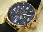20135 Invicta Men's 46mm I Force Lefty Quartz Chronograph Leather Strap Watch