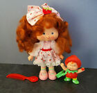 Vintage Strawberry Shortcake Berrykin Doll With Strawberrykin