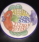 TABLETOPS UNLIMITED PESCADA DINNER PLATE CERAMIC DISH 10.5