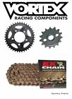 HONDA CBR600F4i 2001 06 Vortex EK 525SRX2 X ring Gold Chain and Sprocket Kit
