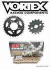 HONDA CBR600F4i 2001 06 Vortex EK 520SRO6 O ring Gold Chain and Sprocket Kit