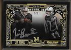 2015 Topps Museum Collection Dual Auto Tim Brown Amari Cooper Rc serial # 1 5