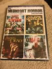 The Midnight Horror Collection Flesh Eating Zombies DVD 2010 NEW Free S H
