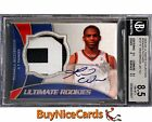 08-09 Russell Westbrook UD Ultimate Collection RC Rookie Patch Auto 10 BGS 8.5