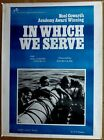 In Which We Serve 1942 30 x 40 India poster Noel Coward David Lean