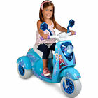 Disney Frozen 3-Wheel Scooter Toys Children's 6V Ride-Ons Tricycle Motor Vehicle