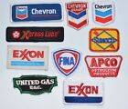 Vintage Embroidered Corporate Oil & Gas Clothing Patches Collectible Memorabilia