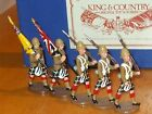 King and Country Highland Brigade Colours--Glossy toy soldiersMIB