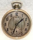 c.1920s TAVANNES 12s 17j Swiss Pocket Watch w/ Wadsworth Gold Filled Case
