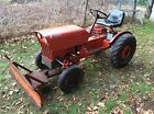 1977 Power King Economy tractor with plow