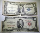 US 1 Silver Certificate Antique Currency Collection