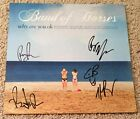 BAND OF HORSES SIGNED AUTOGRAPH WHY ARE YOU OK VINYL ALBUM w EXACT PROOF