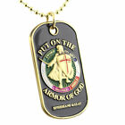 ARMOR OF GOD Dog Tag Necklace Keychain Christian Faith Ephesians 6