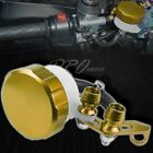 CNC T6061 Aluminum Clutch/Brake Reservoir Fluid Tank Bottle Master Cylinder Gold