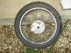 1975 Yamaha Enduro DT125 DT 125 rear back rim wheel hub 18 in TIRE BRAKES 74-76
