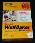 NEW Nolo Quicken WillMaker Plus 2016 Estate Planning Windows Software Retail Box