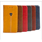 Magnetic PU Leather Case Card Storage Wallet Pouch For Samsung & iPhone Models