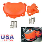 Water Pump + Engine Clutch Case Cover Guard For KTM 250 SX-F EXC-F XC-F XCF-W