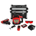 RED ROTARY LASER LEVEL SELF-LEVELING AUTOMATIC ROTATING OUTDOOR RED BEAM