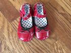 Robeez Girls Red Patent Leather Shoes US Size 18 24 Months