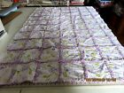 RAG QUILT  WITH WAVERLY INSPIRATIONS 100% ALL COTTON 58