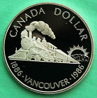 1986 Canadian Specimen 50 Silver Dollar Coin Vancouver Canada 1 COIN ONLY