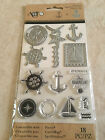 Momenta Art C Stamp  Die Set Nautical Clear Sailing 25893 NEW