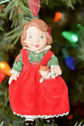 Hallmark - Mistletoe Miss - 3rd in Series - Set of 2 - Keepsake Ornament