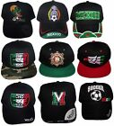 Mexico Baseball Caps Hats Assorted Styles 6 Pc Lot Embroidered CapMx 6
