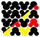 4 to 50 MICKEY MOUSE HEADS Die cut Embellishment 4 Parties Invites Craft
