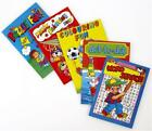 6 Assorted Activity Books - A6 - Loot/Party Bag Fillers Wedding/Kids
