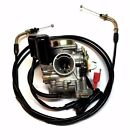 20MM CARBURETOR THROTTLE CABLE GY6 50 50CC SCOOTER MOPED CARB ROKETA SUNL NEW