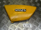 SUZUKI GN125 GN 125 LEFT SIDE FAIRING PANEL COVER DAMAGED *FREE UK POST*L13