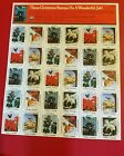 Wildlife Stamps Stamp Sheet 1989 Working for the Nature of Tomorrow E5901
