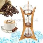 Cold Drip Ice Coffee Maker Glass Dutch Brew Machine w/ Filter Paper For 8 Cups
