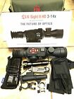 ATN X Sight II HD 3 14x Night Vision Package Batt Pack Power IR Light And More