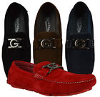 Mens Giovanni Dress Shoes Driving Moccasin Formal Loafer Wedding New M15 509