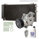 New AC Compressor  Clutch With Complete A C Repair Kit For Chevy Tracker