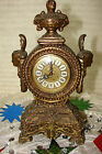 ANTIQUE KAISER MANTEL ALARM CLOCK PRE OWNED WORKS ON AND OFF LOOKS AWESOME