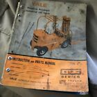 YALE G51P 51 GASOLINE FORKLIFT PARTS CATALOG INSTRUCTION MANUAL