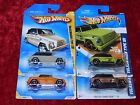 2009 2011 Hot Wheels New Models Faster Than Ever Volkswagen Type 181 4 PK