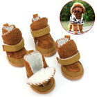 4 Pcs Set Warm Winter Cozy Pet Dog Chihuahua Boots Puppy Shoes Small Dog MJ