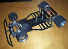 VINTAGE UNKNOWN 1/10 ROLLING CHASSIS ELECTRIC RC CAR QUARTER FLASH MOTOR