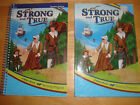 A Beka Abeka 1 Reader Set Strong And  True Student  Teacher Books