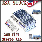 Present Mini 2CH HiFi Power AMP Stereo Amplifier Audio for Car Boat Motorbicycle