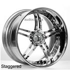 4pcs 22 Staggered AC Forged Wheels Rims Split5 CH 3 piece