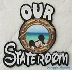 DISNEY OUR STATEROOM Cruise Die Cut Title Scrapbook Page Paper Piece SSFFDeb