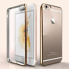 Luxury Quality Gold TPU Soft Clear Case Cover For I phone 6,6s,7